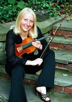 Carrie Krause, violin